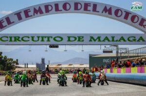 CAM 2021: GRANDES CARRERAS MARCADAS POR EL CALOR EN EL TEMPLO DEL MOTOR DE MÁLAGA