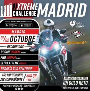 XTREME CHALLENGE EN MADRID LOS PRÓXIMOS 1 Y 2 DE OCTUBRE