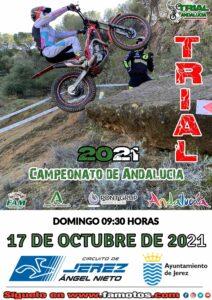EL ANDALUZ DE TRIAL VUELVE A JEREZ EL PRÓXIMO DOMINGO 17 DE OCTUBRE